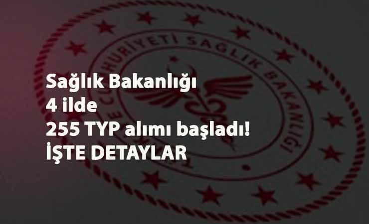 Sağlık Bakanlığı TYP alımı 4 ilde devam ediyor: Güncel TYP ilanları