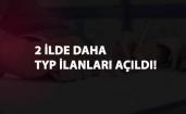 Sağlık Müdürlüğü ve İl Özel İdaresi: İki ilde daha TYP ilanı açıldı
