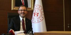 Gençlik ve Spor Bakanı Kasapoğlu da Korona'ya yakalandı
