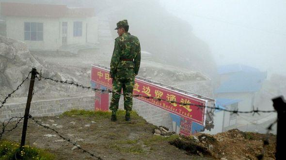Çin ile Hindistan arasında 'kavga'