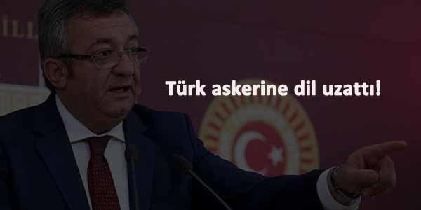 Yine CHP, yine Türk askerine dil uzatma vakası!