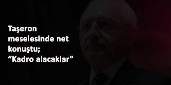 Kemal Kılıçdaroğlu'dan kadro alamayan taşeron açıklaması