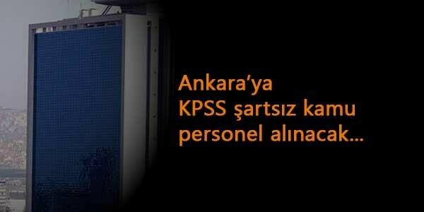 Ankara ANKET KPSS şartsız büro personeli alacak: Başvuru yöntemi belli oldu