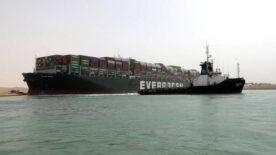 Süveyş Kanalı açıldı: Geçişler yeniden başladı