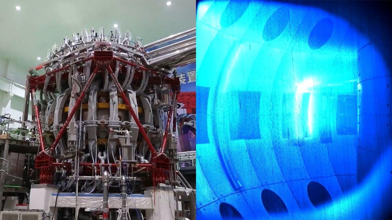 Çin tarafından üretilen son teknoloji: Güneş'in 10 katı sıcaklığında